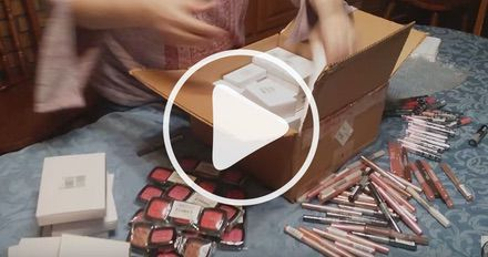 Unboxing Assorted NYX Cosmetics Case