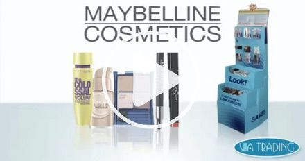 Wholesale Maybelline Cosmetics Lots