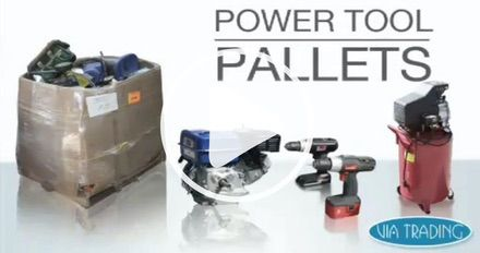 Wholesale Power Tools Pallets & Loads