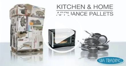 Wholesale Kitchenware Pallets