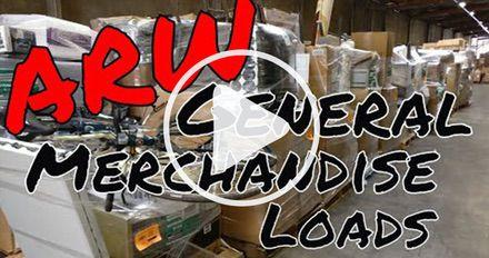 ARW Department Store Customer Return General Merchandise Loads