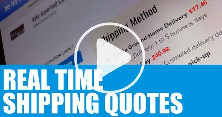 HOW TO Get Real Time Shipping Quotes (English)