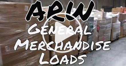 ARW Department Store Customer Return Loads (Short Clip 1)