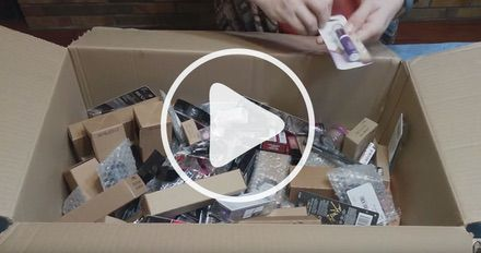 Unboxing Assorted Revlon Cosmetics Case