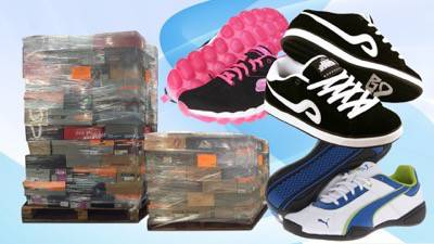 Assorted New Overstock Branded Athletic Shoe Lots