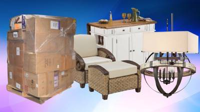 Online Customer Return Home Goods Pallets