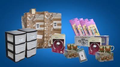 Programa | Lotes de Mercancía General/Artículo de Dólar en Caja Maestra