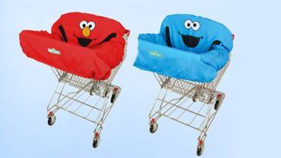 LiquidateNow | Liquidation of Sesame Street® Cookie Monster and Elmo Shopping Cart Covers