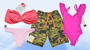 AMZ Assorted Shelf-Pull Swim Wear