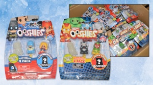 Marvel: Ooshies DC Comic Pencil Toppers 4 Pack