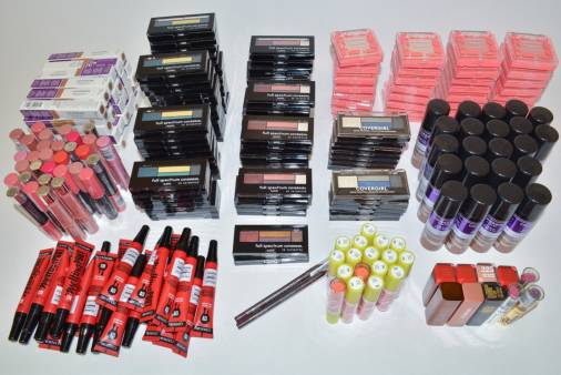 Assorted Case Packs of New Overstock Cover Girl COSMETICS.
