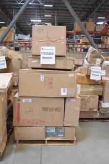 Online Customer Return GENERAL MERCHANDISE Loads - Estimate $90,000 Value