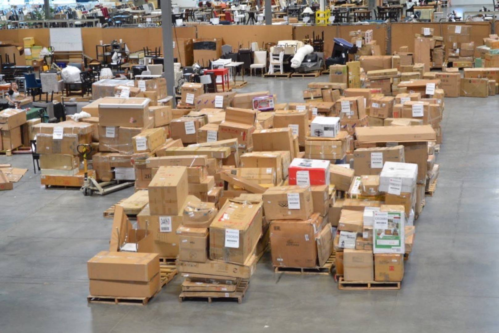 Wholesale Liquidation Customer Returns Pallet T