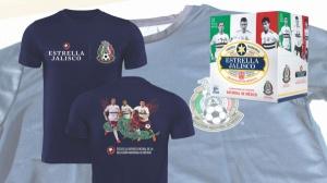 Estrella Jalisco Mexican National Team Soccer T-Shirts