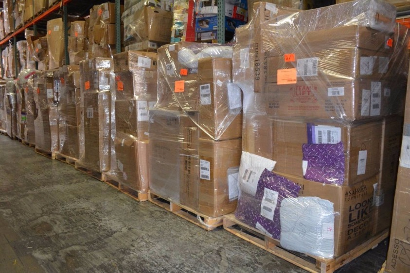 Via Trading | Online Customer Return Home Goods Pallets