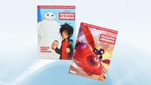Liquidation of Master Case Licensed Big Hero Coloring Books