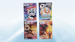 Liquidation of Master Case Star Wars E7 Licensed Coloring Books