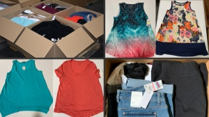 HE Department Store Assorted Everyday & Casual Women's Mostly Spring/Summer Clothing Lots