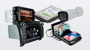New Overstock Electronics and Accessories Loads
