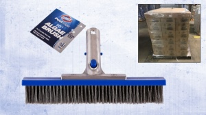 "LiquidateNow | Liquidation of Clorox  10"" Aluminum Pool & Spa Brushes"