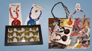 Costume Earrings, Necklaces & Rings