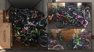WM Department Store Return Bicycle Truckloads