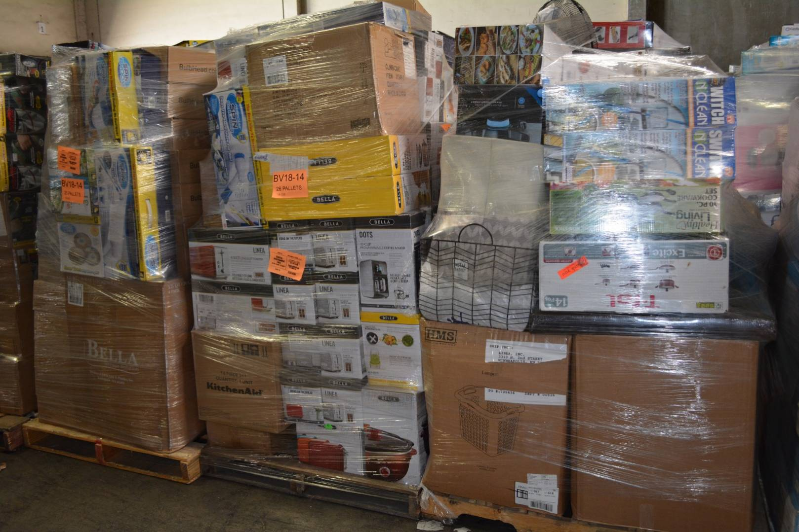 Via Trading | Wholesale General Merchandise Loads
