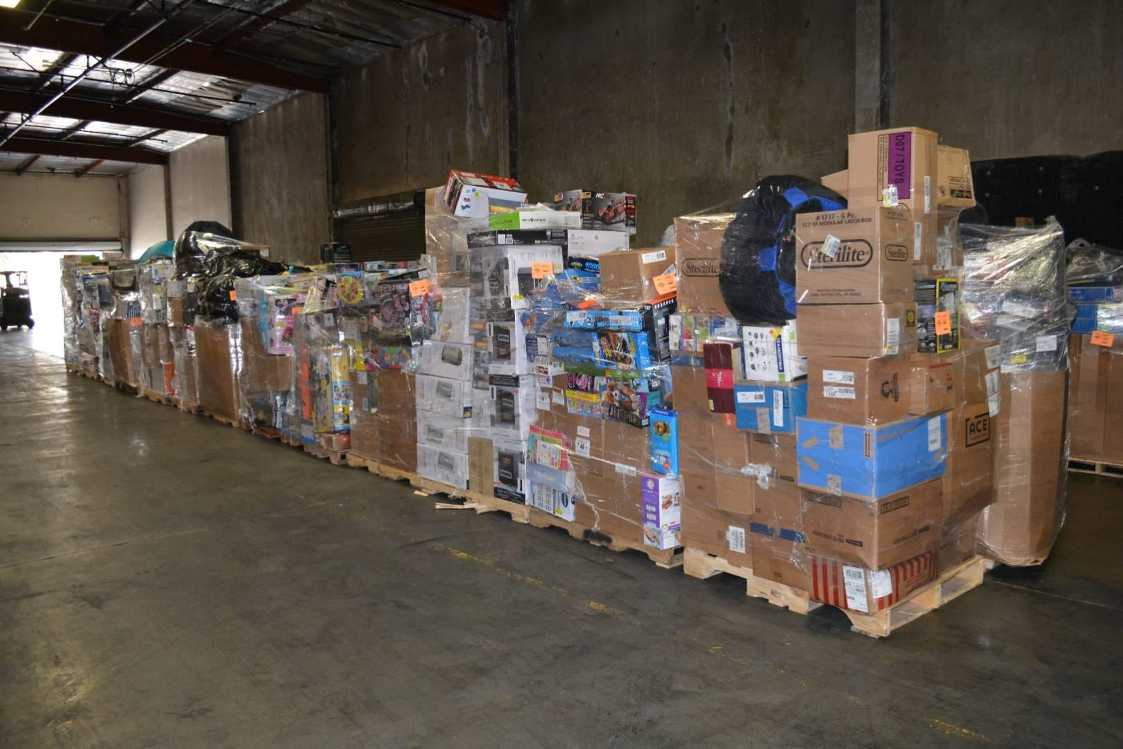 Via Trading | Wholesale Truckloads - Surplus Truckloads