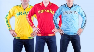 Mens and Boys Full Zip Soccer Tricot Jackets