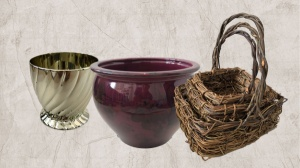 New Overstock Vases and Baskets