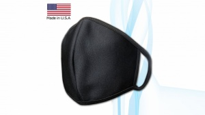 Made in USA Cotton (inner) and Poly Spandex (outer) Face Masks