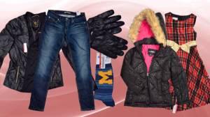 SRS Store Assorted Shelf-Pull Clothing Bins (Men/Women/Kids)