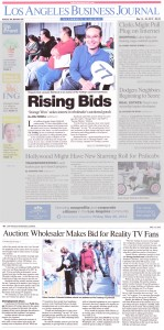LA business journal article