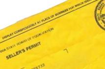 California Reseller's Permit