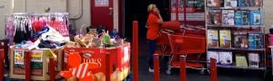 retail store shopping cart
